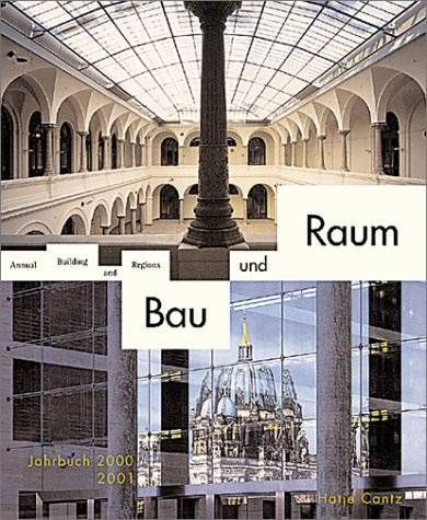 9783775709804: Building and Regions Annual: 2001