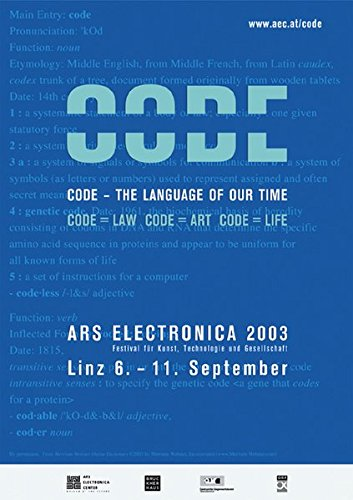 9783775713566: Ars Electronica 2003 Code: The Language of Our Time