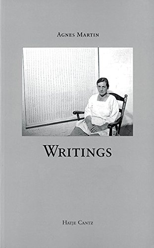 Agnes Martin: Writings (English and German Edition): Martin, Agnes