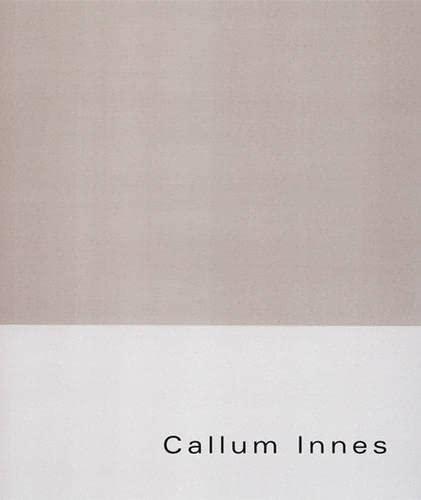 Callum Innes: From Memory: Cooper, Douglas, Innes, Callum