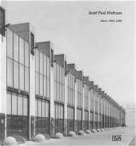9783775720878: Josef Paul Kleihues: Works 1966-1980. Volume 1