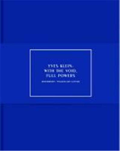 9783775726498: Yves Klein : With the Void Full Powers /Anglais