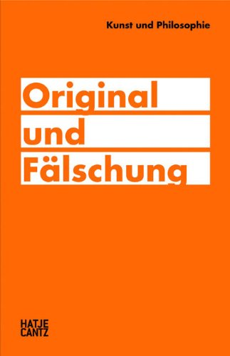 9783775726900: Kunst und Philosophie: Original und Fälschung