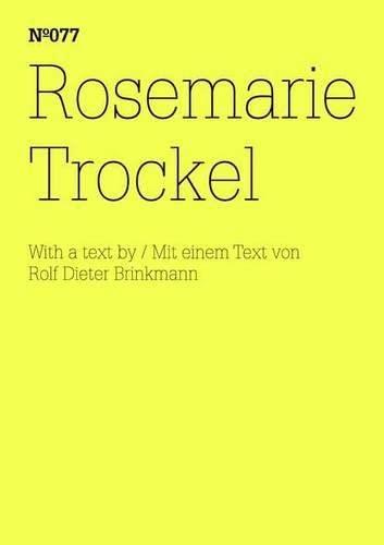 Rosemarie Trockel: Trockel, Rosemarie; Brinkmann,