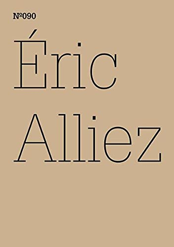9783775729390: Éric Alliez: Diagram 3000 (Words): 100 Notes, 100 Thoughts: Documenta Series 090