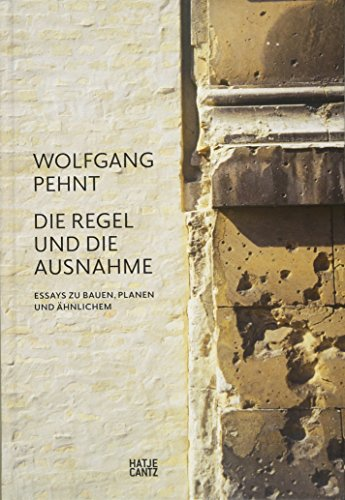 9783775731409: Wolfgang pehnt /allemand
