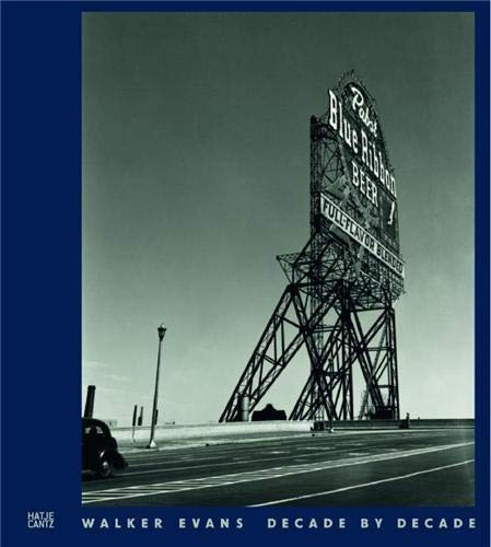 9783775733403: Walker Evans: Decade by Decade (German and English Edition)