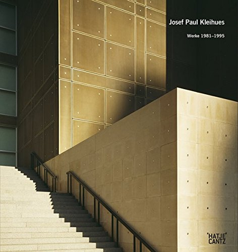 9783775736169: Josef Paul Kleihues: Werke 1981-1995