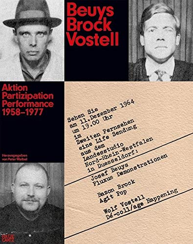 9783775738644: Beuys Brock Vostell (German Edition): Aktion. Partizipation. Performance