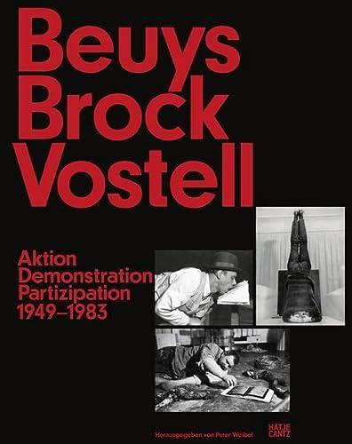 9783775738644: Beuys brock vostell /allemand
