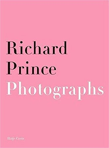 9783775791113: Richard Prince: Photographs, Paintings