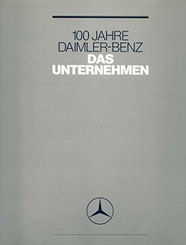 100 Jahre Daimler-Benz: Das Unternehmen.: Gerold Lingnau, Max