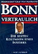 9783775813709: Bonn vertraulich. Die besten Kolumnen eines Insiders.