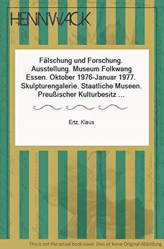 9783775902014: Fälschung und Forschung