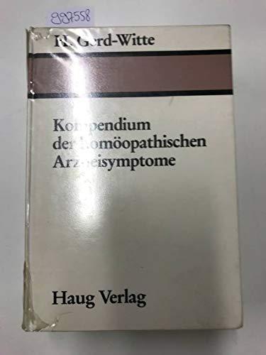 9783776006025: Kompendium der homöopathischen Arzneisymptome