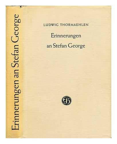 9783776200393: Erinnerungen an Stefan George (Livre en allemand)