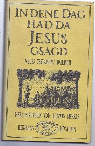 9783776502671: In dene Dag had da Jesus gsagt