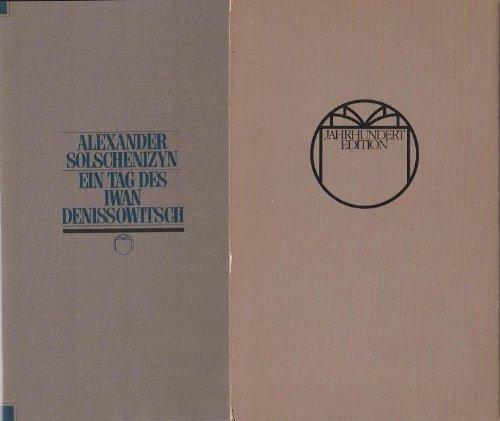 9783776606416: Ein Tag im Leben des Iwan Denissowitsch (German Edition)
