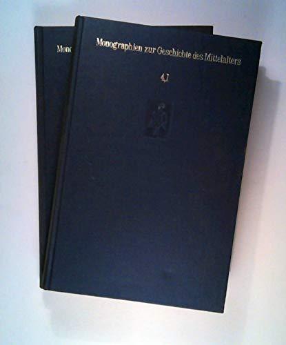 9783777272191: Die Grundlagen der modernen Gesellschaft im Mittelalter. Eine deutsche Gesellschaftsgeschichte des Mittelalters. (=Monographien zur Geschichte des Mittelalters; Band 1+2). [2 Bd.].