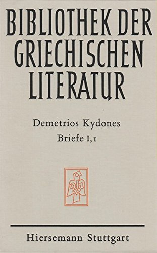 9783777281209: Briefe (Abteilung Byzantinistik) (German Edition)