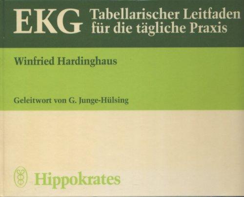 9783777305486: EKG - Tabellarischer Leitfaden für die tägliche Praxis