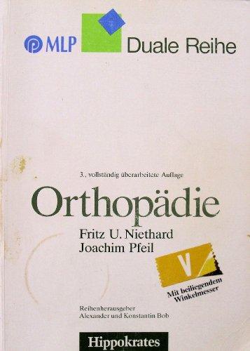 9783777311883: Orthopädie. ( Duale Reihe) .