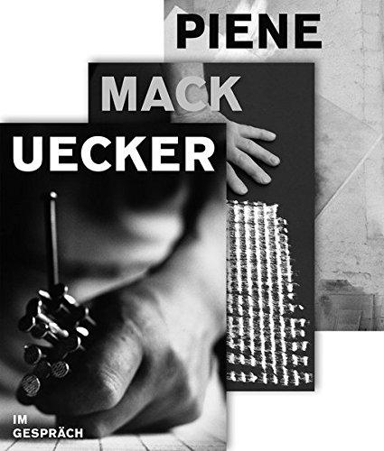 9783777423838: Mack, Piene & Uecker, Im Gespräch: ZERO Künstler Paket