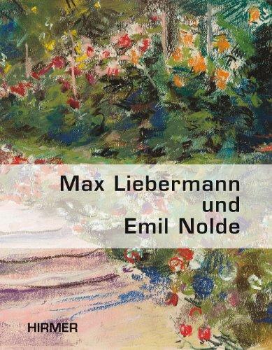 9783777450810: Max Liebermann und Emil Node: Gartenbilder (German Edition)