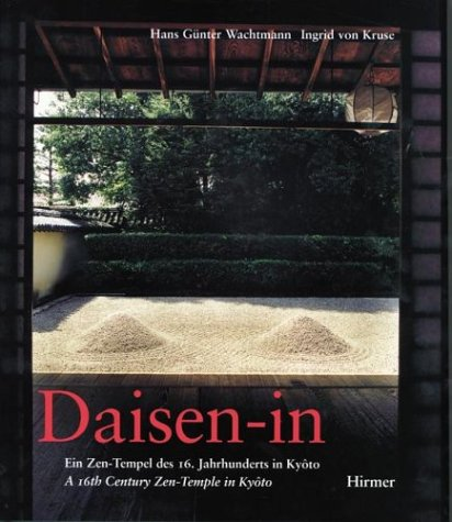 9783777486109: Daisen-in a 16th Century Zen-Temple in KyoTo (German and English Edition)