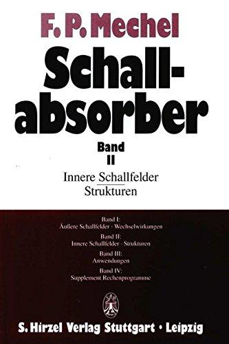 Schallabsorber II: Fridolin P. Mechel