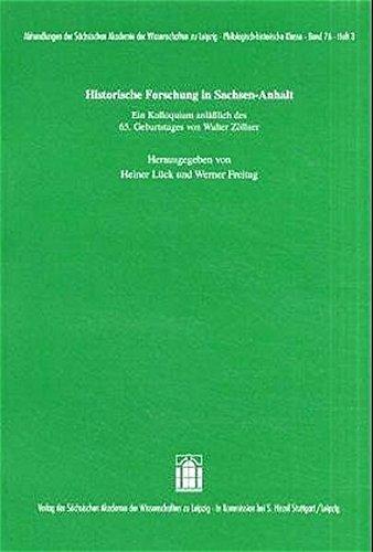 Historische Forschung in Sachsen-Anhalt: Heiner Lück