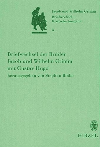 Briefwechsel der Brüder Jacob und Wilhelm Grimm 3