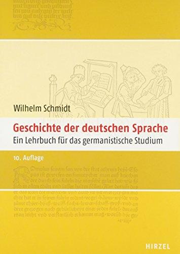 9783777614328: Geschichte der deutschen Sprache