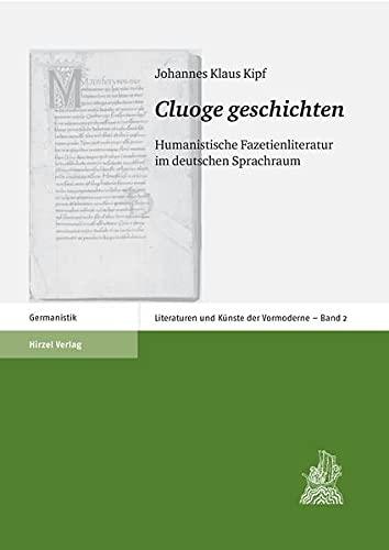 Cluoge geschichten: Johannes Klaus Kipf