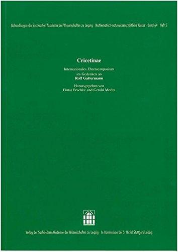 Cricetinae: Elmar Peschke