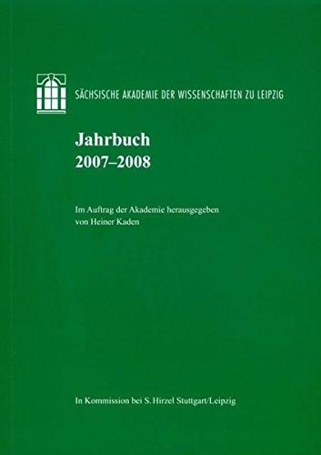 Jahrbuch 2007-2008: Heiner Kaden