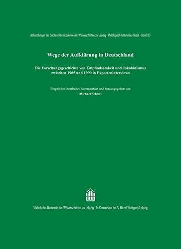 Wege der Aufklärung in Deutschland: Michael Schlott