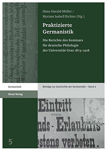 Praktizierte Germanistik: Hans-Harald Müller