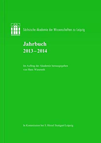 Jahrbuch 2013-2014: Hans Wiesmeth