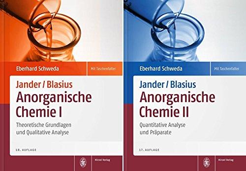 Package: Jander/Blasius, Anorganische Chemie 1+2: Theoretische Grundlagen und Qualitative Analyse /...