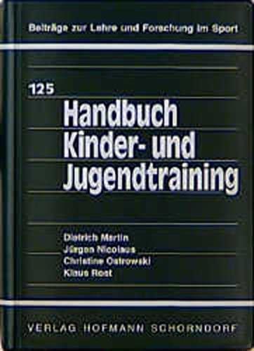 9783778017517: Handbuch Kinder- und Jugendtraining.