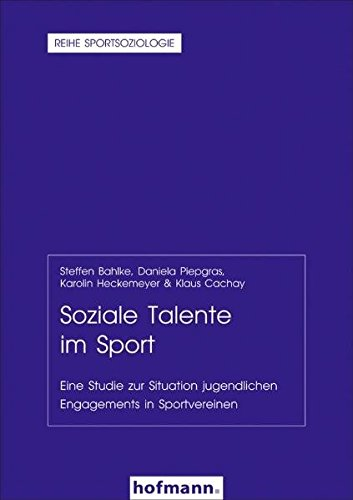 9783778033845: Soziale Talente im Sport: Eine Studie zur Situation jugendlichen Engagements in Sportvereinen