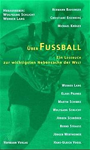 9783778072509: Über Fußball