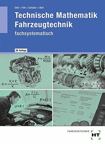 9783778235157: Technische Mathematik Fahrzeugtechnik