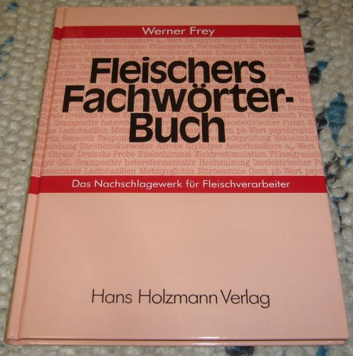 9783778302491: Fleischers Fachwörterbuch. Nachschlagewerk für Fleischverarbeiter