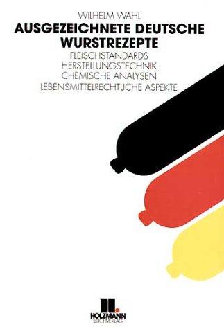 9783778303719: Ausgezeichnete deutsche Wurstrezepte.