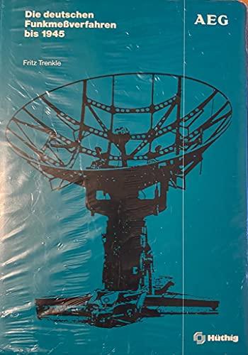 9783778514009: Die deutschen Funkmessverfahren bis 1945 (German Edition)
