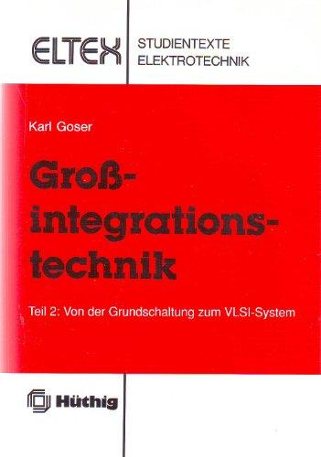 9783778516164: Von der Grundschaltung zum VLSI-System, Tl 2