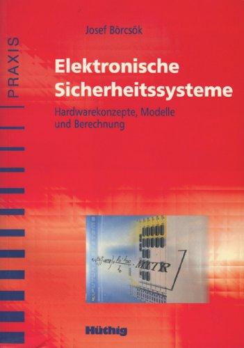 9783778529393: Elektronische Sicherheitssysteme.