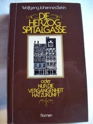 9783778730508: Die Herzogspitalgasse: Oder, Nur die Vergangenheit hat Zukunft : Roman (German Edition)